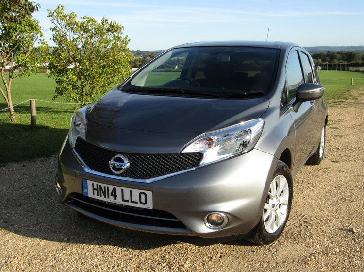 Image of NISSAN NOTE 1.2 ACENTA PREMIUM (STYLE PACK), used cars available in Bradford Abbas, Sherborne, Dorset