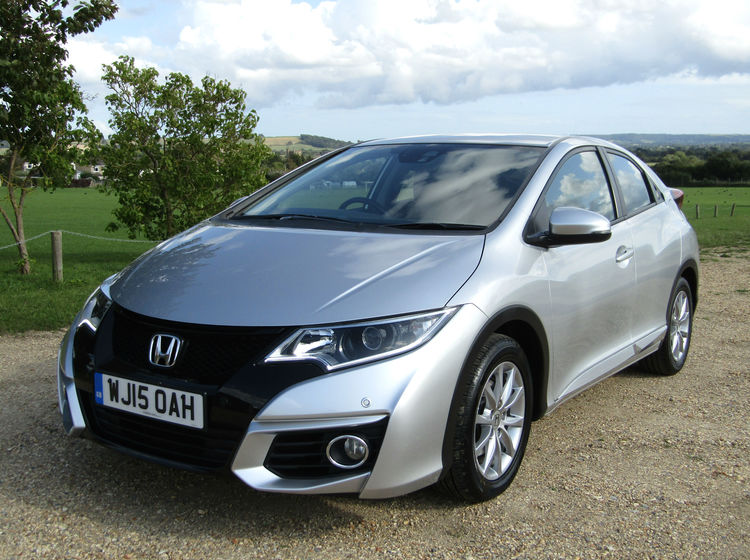 Image of HONDA CIVIC 1.6 I-DTEC SE PLUS, used cars available in Bradford Abbas, Sherborne, Dorset